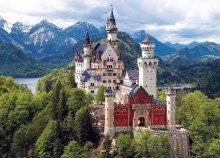 Vár a Neuschwanstein kastély és Salzburg