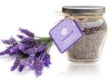 23 g bio levendula virág esztétikus üvegben
