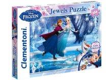 Disney, 104 darabos, Jégvarázs csillámos puzzle