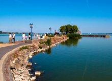 Balatoni nyaralás főszezonban is Keszthelyen