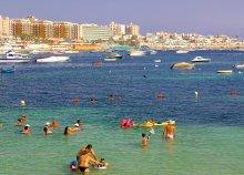 12 nap Máltán, 4-csillagos hotelben 2 főnek reggelivel, repülőjeggyel