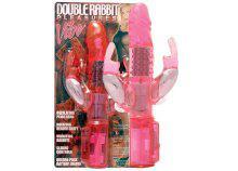 Double Rabbit Vibe forgófejes, csiklóizgatós vibrátor