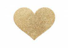 Arany szív mellbimbó tapasz