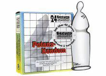 Secura Potency Condom 24 units