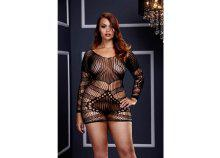 Csipke erotikus női miniruha