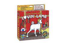 Fehér bárány szerelembaba