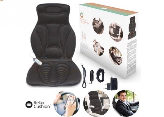 Relax Cushion termál shiatsu masszázs ülésbetét  b4a57b8913