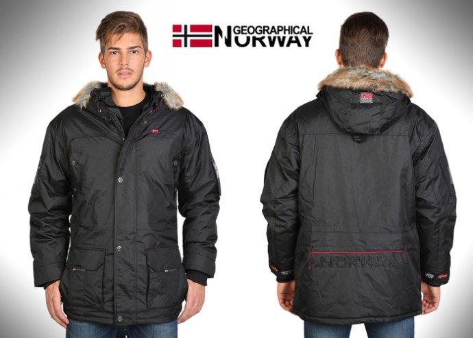 f8b80d7d64 Meleg, sportos Geographical Norway férfi télikabát | Alkupon Termék