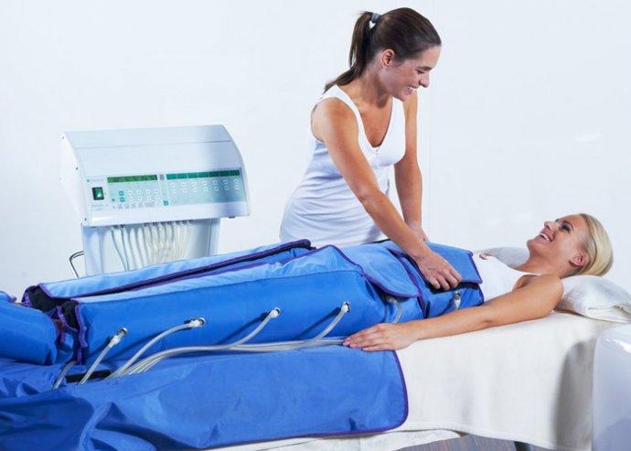 Nyomásterápiás nyirokrendszeri kezelés