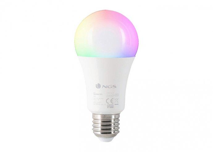 Okos Izzó NGS Gleam727C RGB LED E27 7W