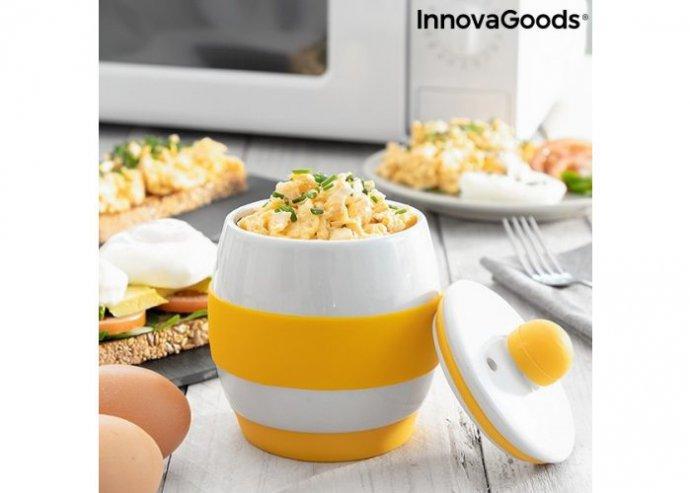 Kerámia mikrohullámú sütő receptekkel Eggsira InnovaGoods