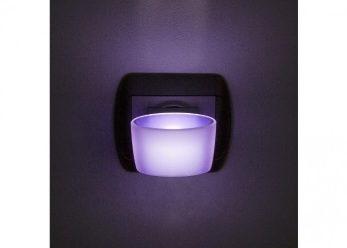 Phenom éjszakai jelzőfény érintőkapcsolóval - lila