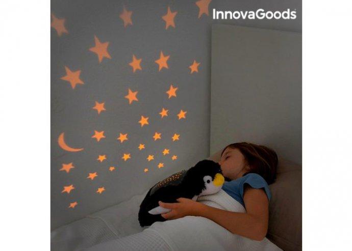 InnovaGoods Plüssjáték Projektorral - Pingvin