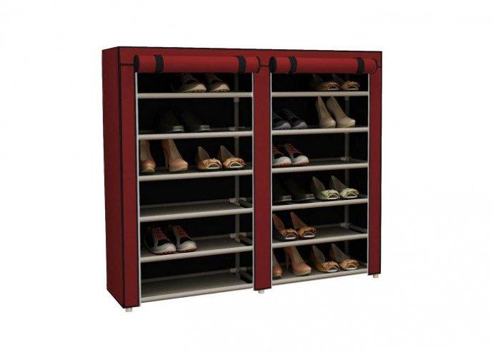 Mobil cipőtároló szekrény - piros
