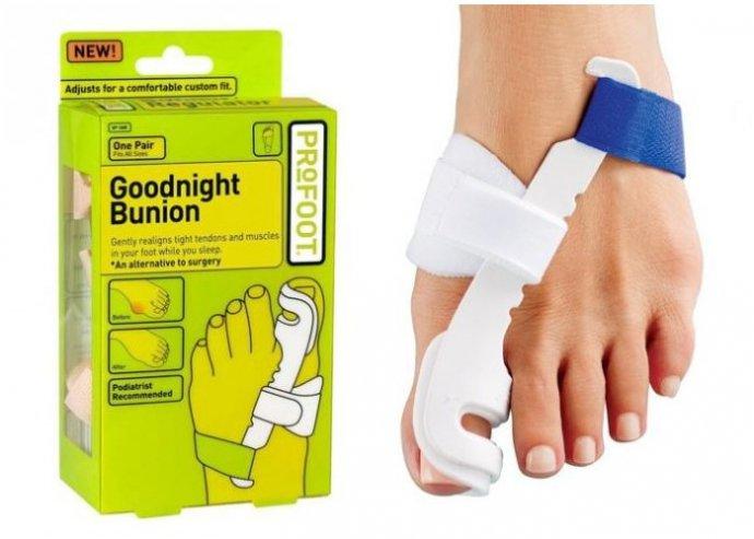 Szabadulj meg a fájdalmas bütyköktől egyszerűen és műtét nélkül, fekve vagy ülve használható éjszaka