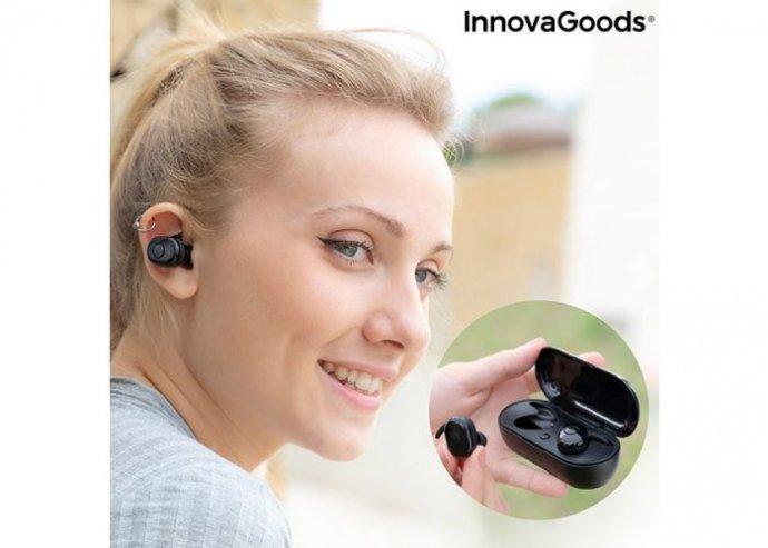 Vezeték nélküli fülhallgató mágneses töltéssel
