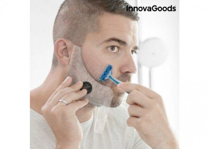 Hipster Barber borotválkozó sablon