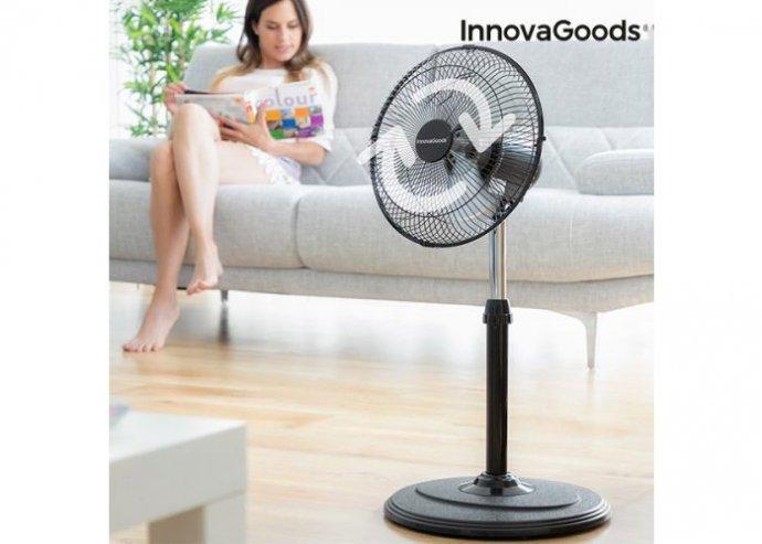 360º- ban oszcilláló álló ventilátor