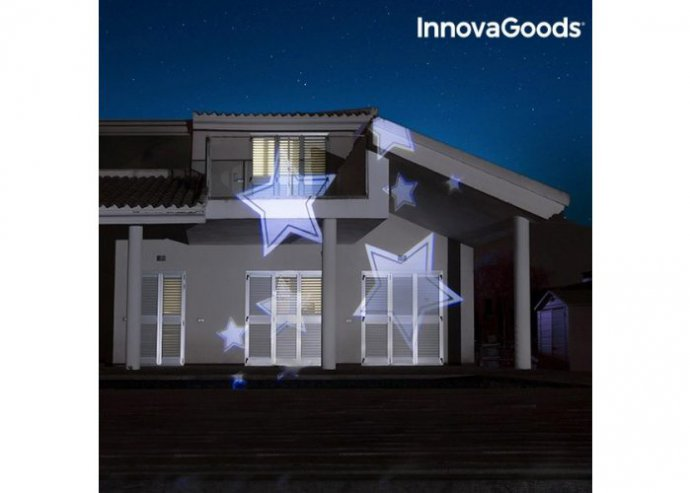 Dekoratív kültéri LED projektor