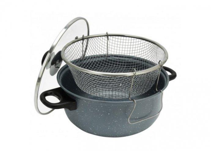 Perfect Home Iron line krumplisütő tapadásmentes bevonattal 3 részes 3,5 literes