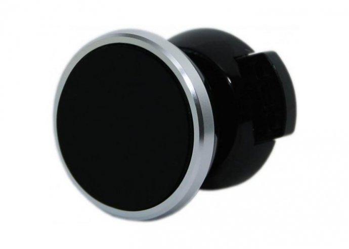 Mágneses autós telefontartó szellőzőrácsra - Ezüst
