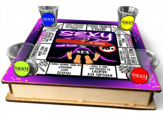 Ivós társasjáték 18 cm x 18 cm - Sexy Party
