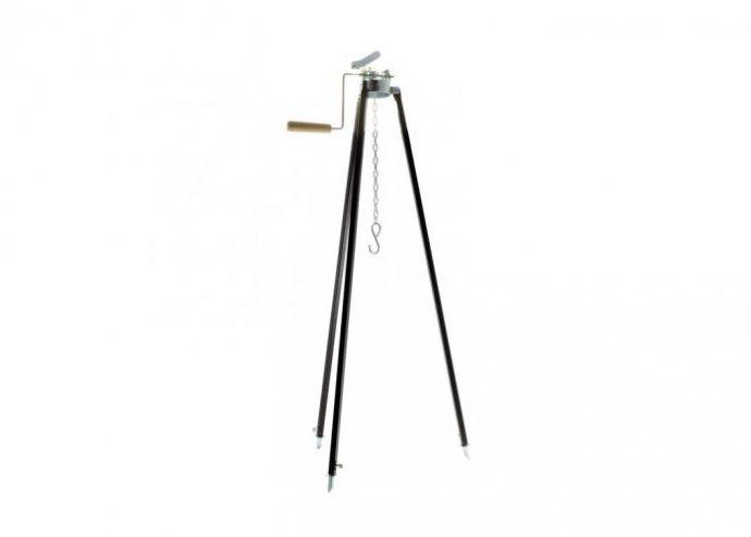 Perfect Home Állítható bográcsállvány tekerős 180/100 cm