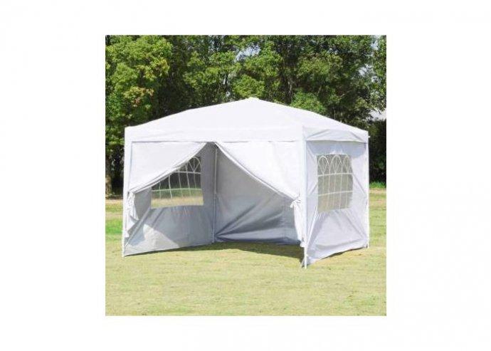 Party sátor fehér színben - 3 x 9 méter