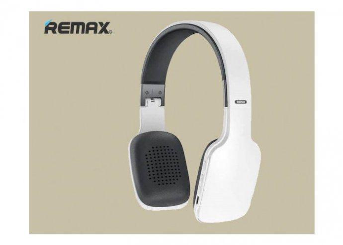 Remax RB-700HB Bluetooth 5.0 vezeték nélküli fejhallgató - Fehér