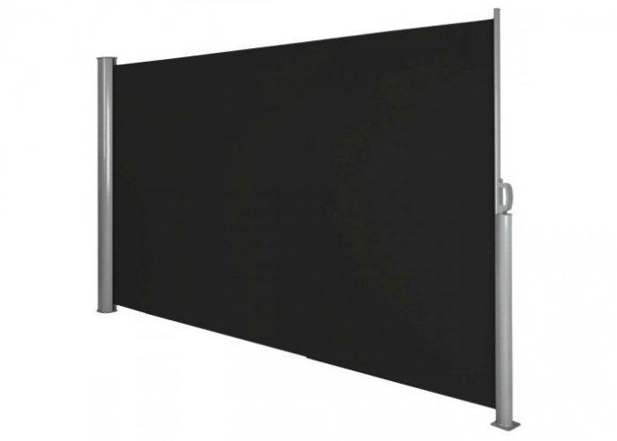 Kihúzható árnyékoló fal, 160*300 cm - sötét szürke