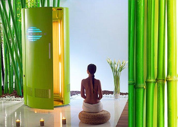 Legyen vonzó barna színed UV mentesen! 3 alkalmas Aqua Tan bőrbarnító bérlet 2.390 forintért, -60% kedvezménnyel