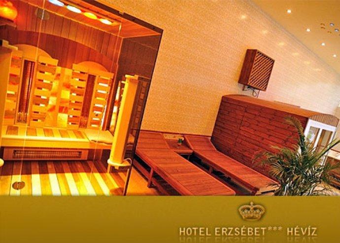 Őszi termálvizes kikapcsolódás! 3 éjszaka 2 fő részére az Erzsébet Hotel Hévízben reggelivel, egy kávéval és sütivel, wellness használattal és ajándék fogorvosi konzultációval 15.950 Ft/fő