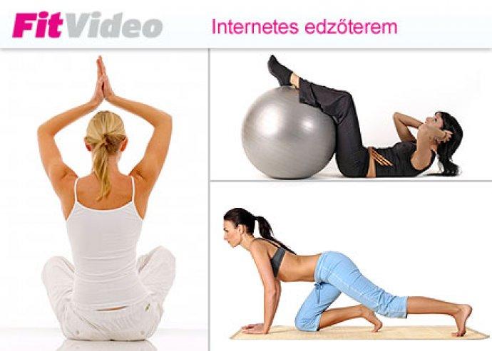 Otthon is szeretnél tenni a fitt alakodért? Próbáld ki az  online edzőtermet a változatos otthoni mozgásért! 60 napos  online fitness bérlet 5.400 Ft helyett 1900 Ft, -64%