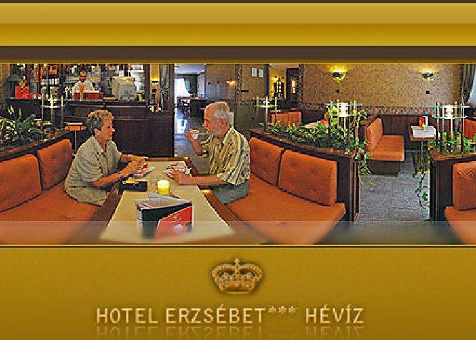 Őszi lazítás Hévízen. 3 nap / 2 éjszaka szállás az Erzsébet Hotelben 44.000 Ft helyett 21.490 Ft