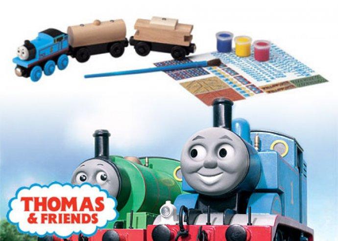 Kreatív és szellemes családi móka. Thomas & Friends színezz és játssz családi szett most 4990 Ft helyett 2495 Ft