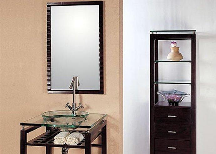 Idő és vízálló guszta felület, hogy mindig öröm legyen a tükörbe nézni! Gyönyörű tölgyfa fürdőszobabútor, igazi minimál design most 24.750 Ft