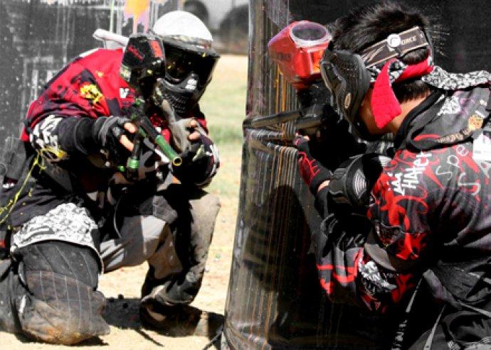 Extrém kaland a többiekkel! 4 órás Paintball játék, 100 db lőszer, fedett pályán, korlátlan ásványvíz fogyasztással 6.125 Ft helyett 1.800 Ft