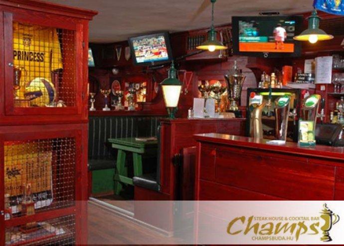 Válogass kedvedre az étlapunkról Bel-Budán! A la carte ételfogyasztás a Champs Buda Steak House & Cocktail Bárban. Most 5.000 Ft helyett csak 2.500 Ft!