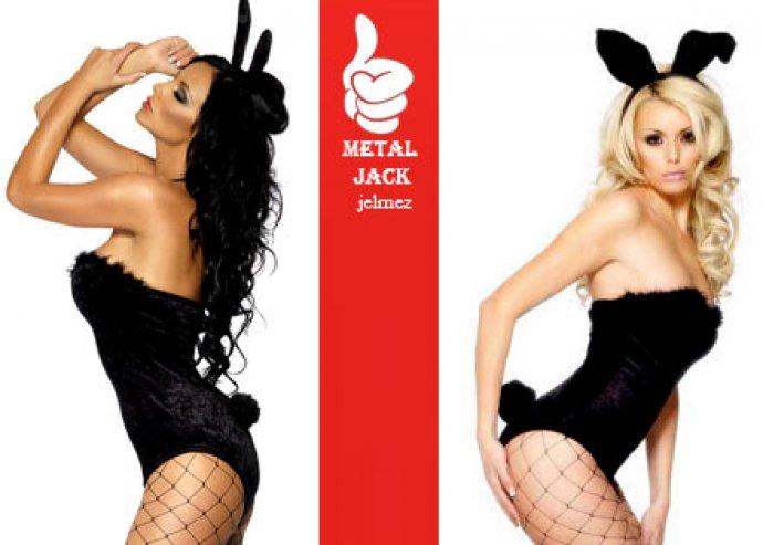 Szerezz örömet mindkettőtöknek Valentin napra! Bizonyítsd be milyen belevaló nő vagy! Női Playboy nyuszi jelmez.