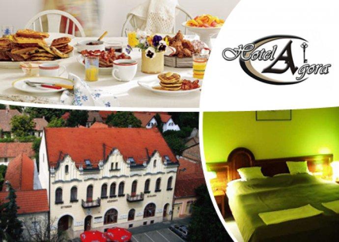 2 fő 3 nap / 2 éj szállás reggelivel a Hotel Agóra Siklósban, ingyenes wellness használattal.