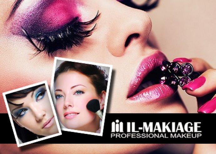 Profi sminkes képzés, egyéni oktatással az Il-Makiage világhírű cég tanfolyamán!