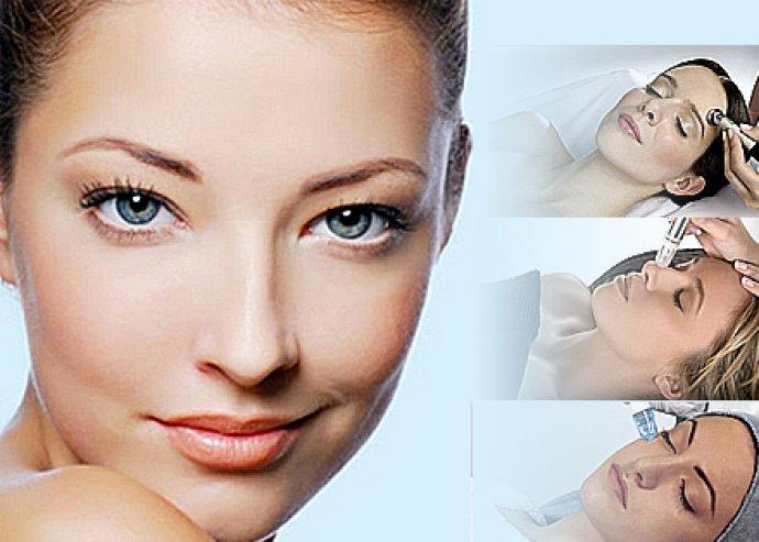 3 alkalmas mikrodermabráziós arckezelés feszesítő arcmasszírozással, nyirokmasszázzsal!