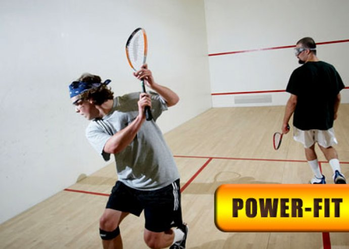 5 alkalmas squash bérlet, ingyenes ütőbérlés