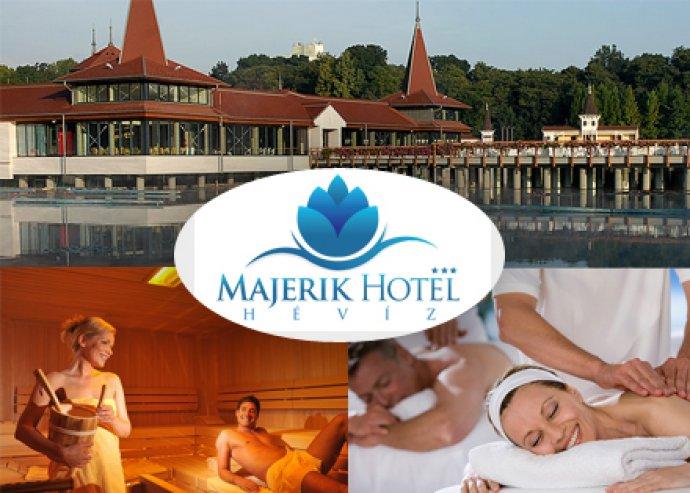 3 nap két éjszaka 2 fő részére reggelivel a Hotel Majerikben