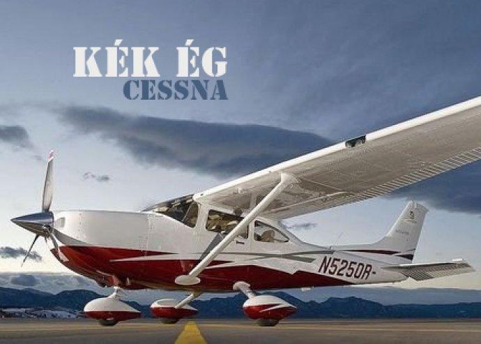 Fél órás kedvcsináló repülés Cessna típusú géppel 3 utas számára