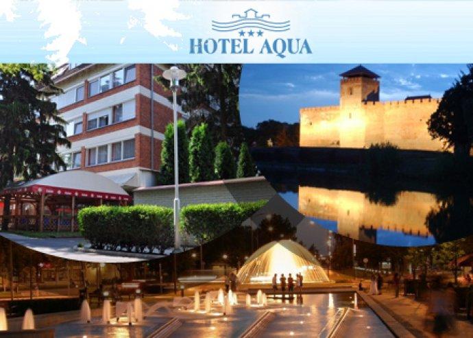 3 nap / 2 éj Gyulán 2 fő részére az AQUA Hotel***-ben!