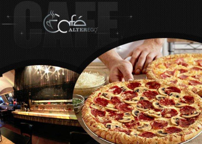 Ételfogyasztás az Alterego Café éttermében