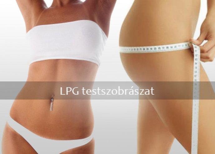 Egyalkalmas kavitációs zsírbontás, LPG vákumos nyirokmasszázs választható testrészen, valamint toka fogyasztás vagy arclifting