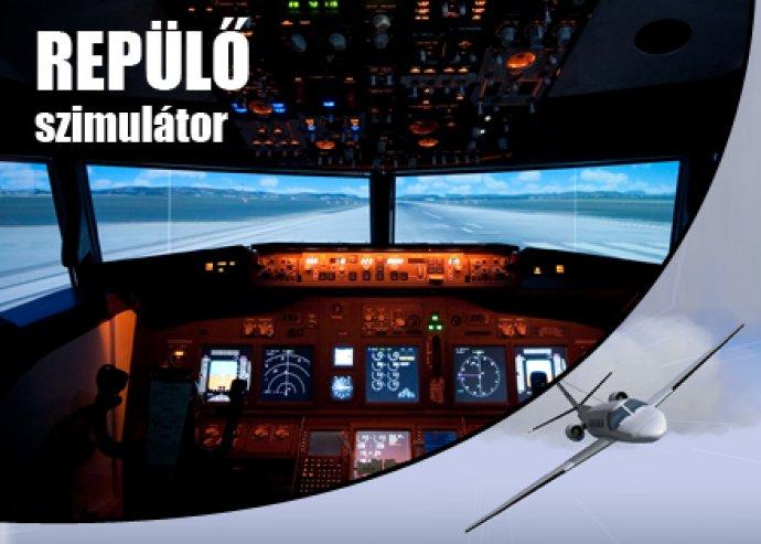 Repülő szimulátoros élményrepülés