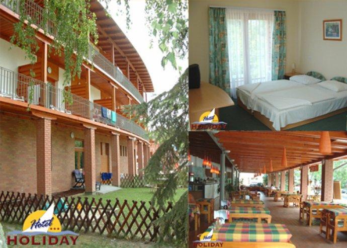 3 nap / 2 éj - 2 fő és egy gyermek részére a Siófoki Hotel Holiday-ben reggelivel + ingyenes strand belépő